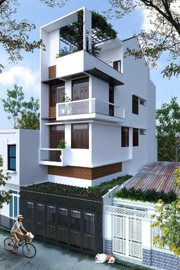 6- Sở hữu ngôi nhà đẹp mãi với thời gian cùng thiết kế nhà 6x20m