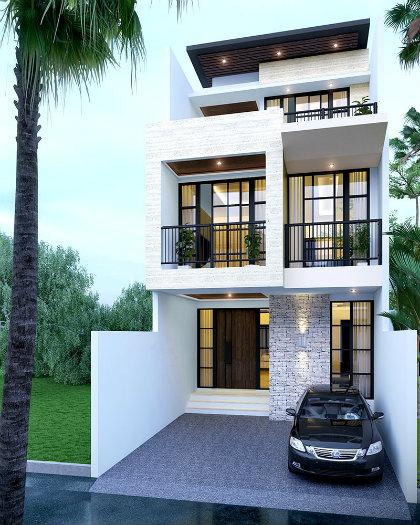7- Sở hữu ngôi nhà đẹp mãi với thời gian cùng thiết kế nhà 6x20m
