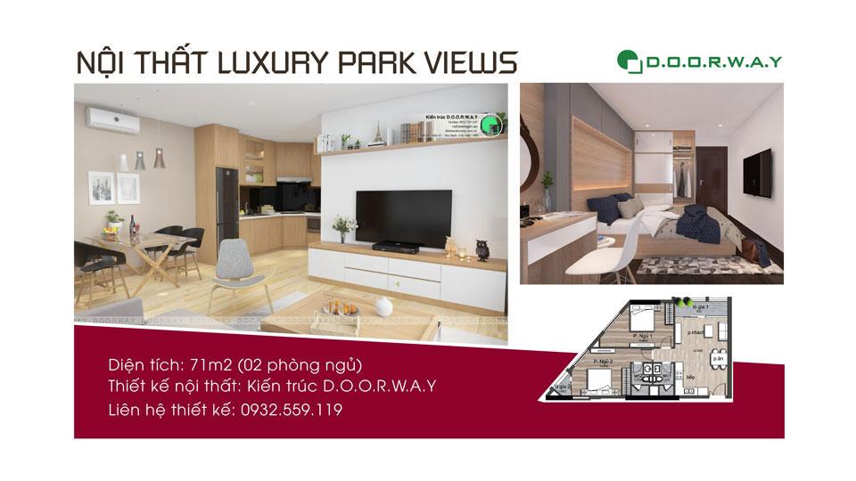 Anhtieubieu- Gợi ý chọn nội thất căn 71m2 Luxury Park View