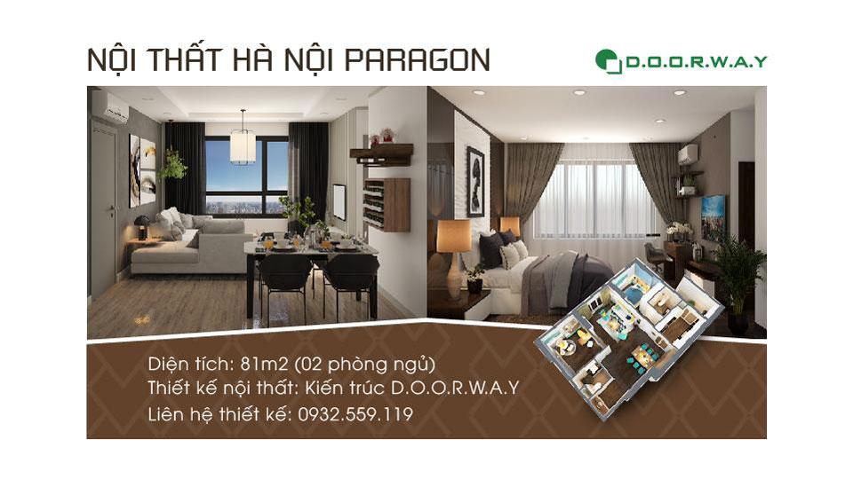Ảnh tiêu biểu- Xem ngay thiết kế nội thất căn 81m2 Hà Nội Paragon