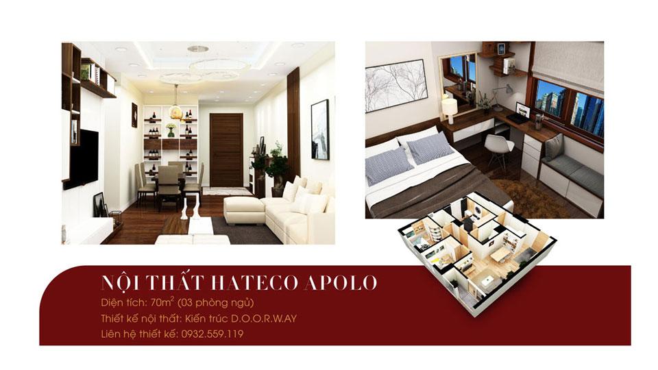 Anhtieubieu- 5 lưu ý khi chọn nội thất căn hộ 70m2 Hateco Apollo