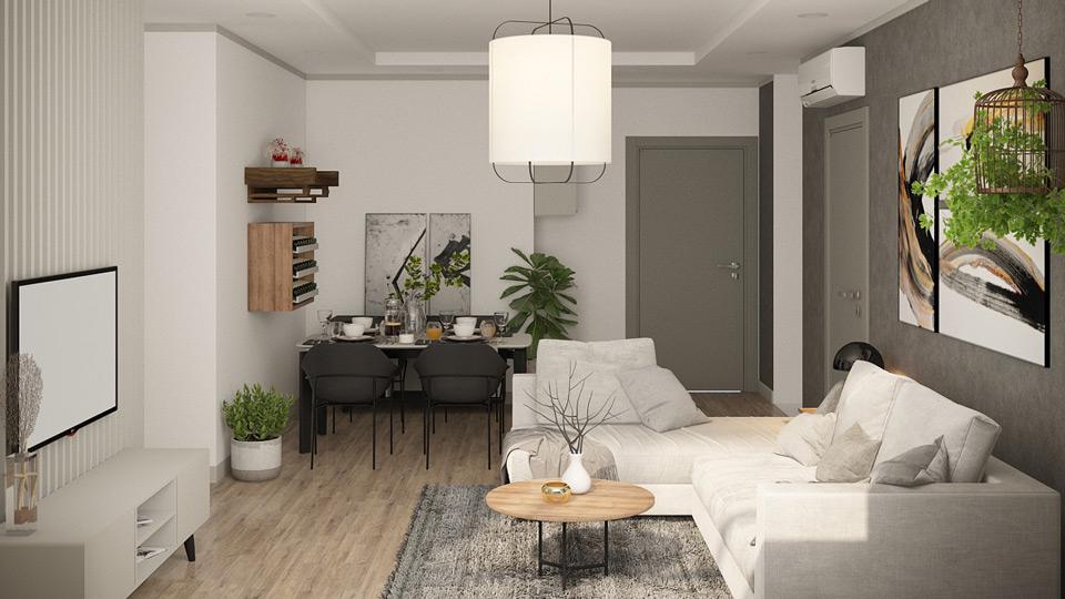 ảnh tiêu biểu - nội thất chung cư đơn giản