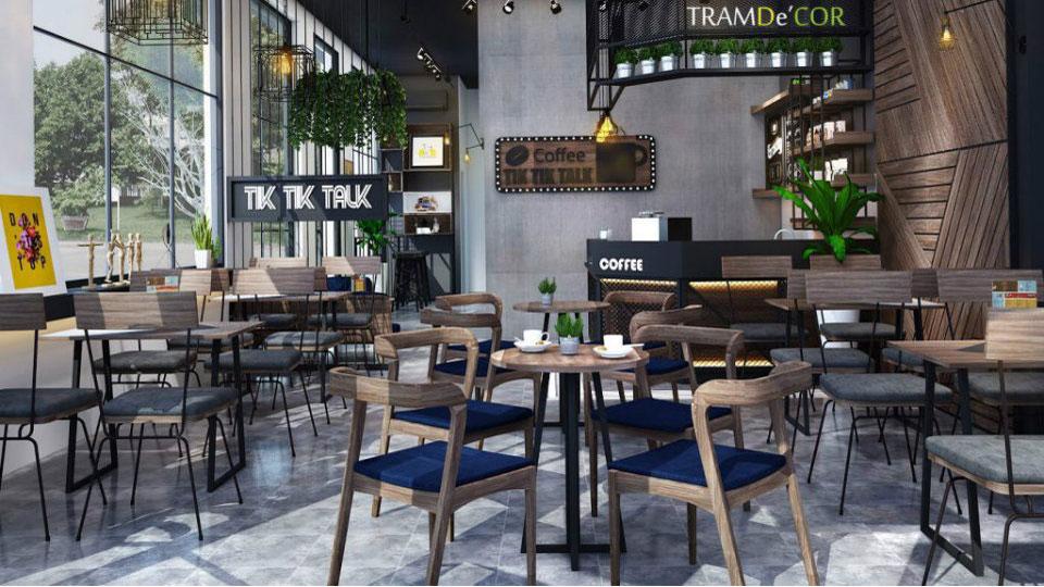 Anhtieubieu- Mẹo thiết kế quán cafe đẹp ngang 4m thu hút mọi khách hàng