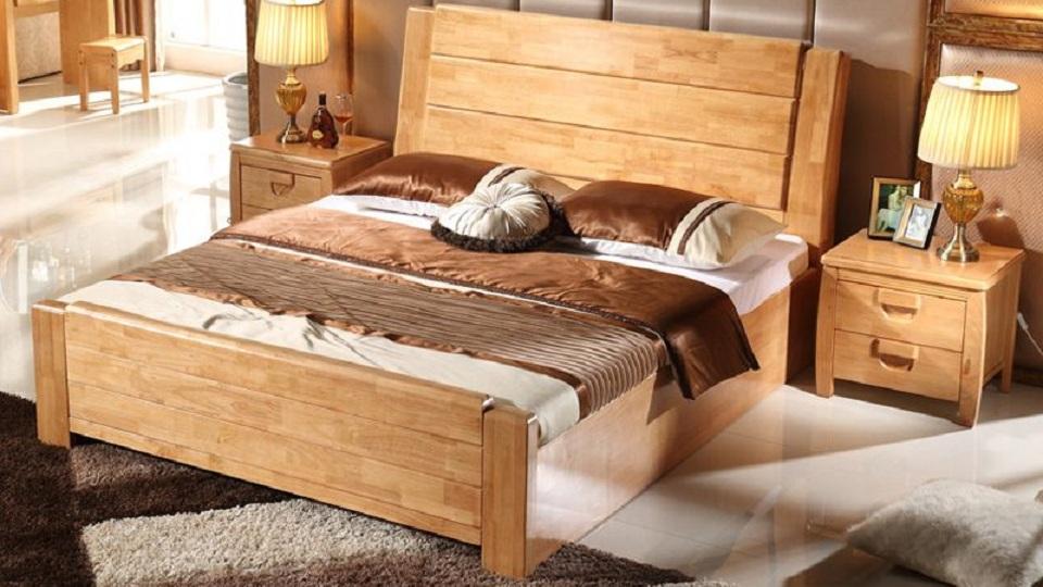 Ảnh tiêu biểu-Bộ nội thất phòng ngủ gỗ sồi: tinh hoa cho giấc ngủ trọn vẹn