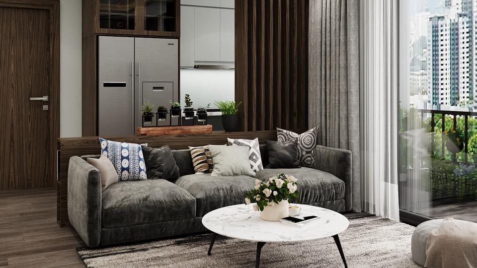 3 ý tưởng thiết kế nội thất chung cư 2020 đẹp, ấn tượng