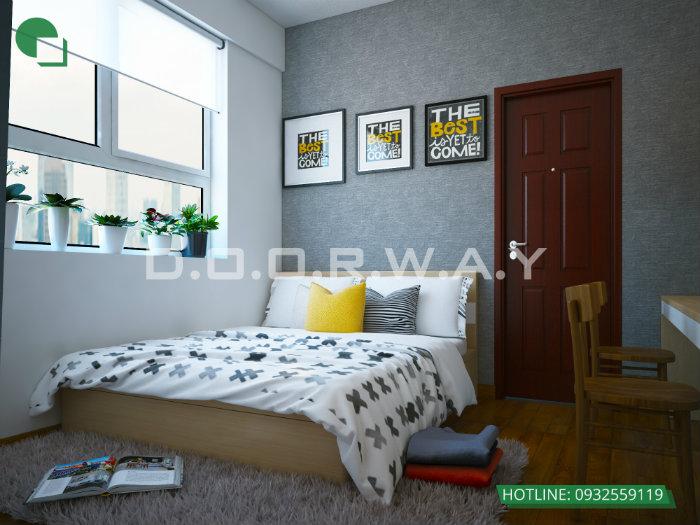 1- Cách thiết kế nội thất phòng ngủ 25m2 đổi tài vận cho chủ nhà
