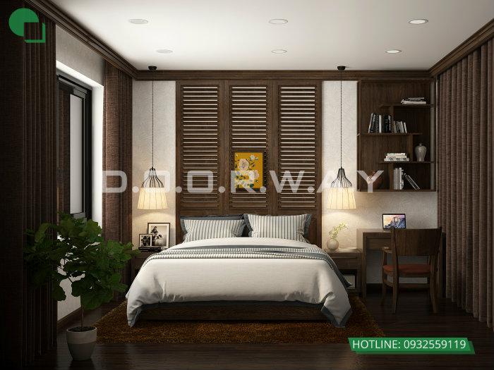 2- Cách thiết kế nội thất phòng ngủ 25m2 đổi tài vận cho chủ nhà