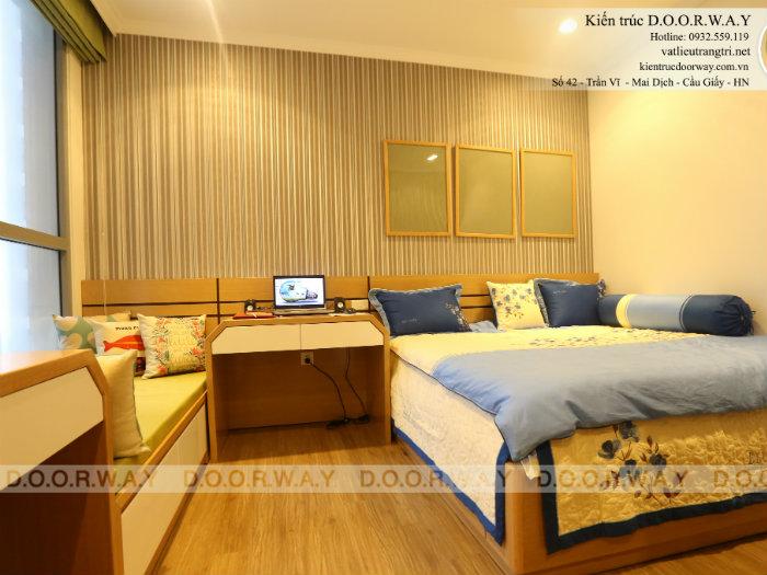 3- Cách thiết kế nội thất phòng ngủ 25m2 đổi tài vận cho chủ nhà