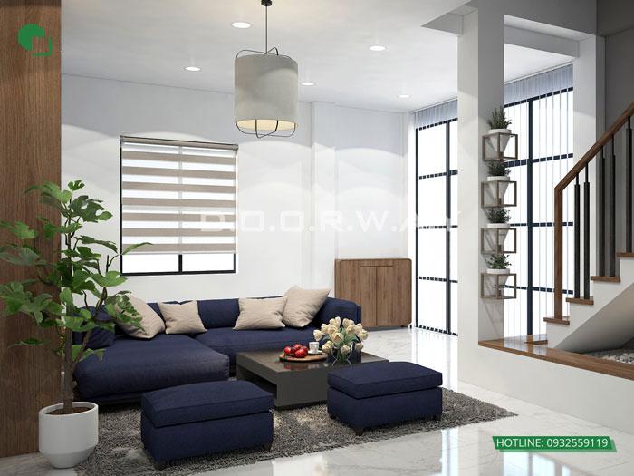 5-thiết kế nội thất phòng khách 25m2
