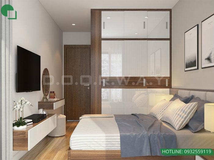 5- Cách thiết kế nội thất phòng ngủ 25m2 đổi tài vận cho chủ nhà