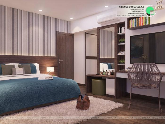6- Cách thiết kế nội thất phòng ngủ 25m2 đổi tài vận cho chủ nhà
