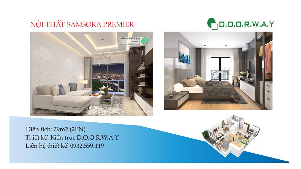 Ảnh tiêu biểu- Mẹo chọn nội thất căn 79m2 Samsora Premier 2019