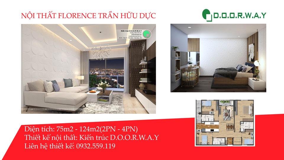Ảnh tiêu biểu- Tổng hợp thiết kế nội thất căn hộ Florence đẹp nhất 2019