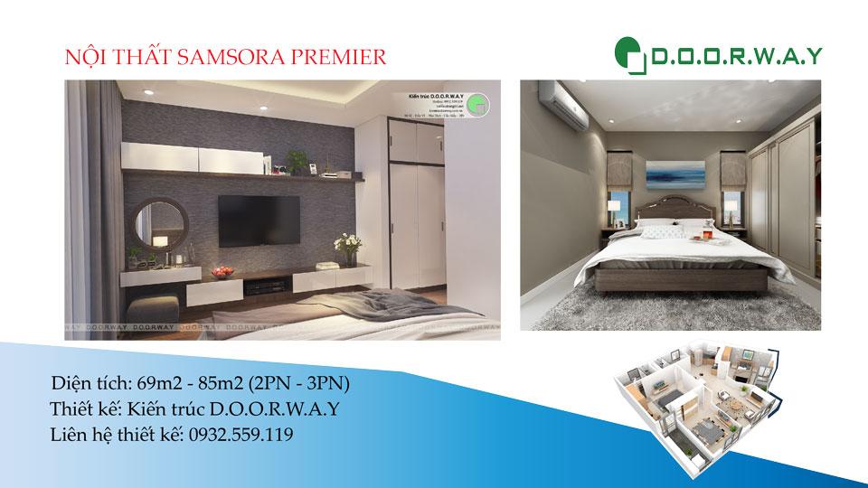 Ảnh tiêu biểu- Ngắm toàn cảnh thiết kế nội thất căn hộ Samsora Premier | 2019