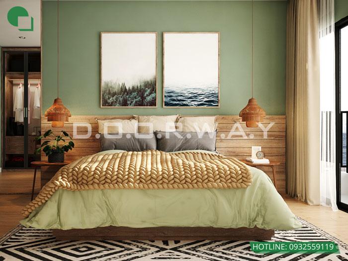 PN1(1)- Tổng hợp thiết kế nội thất căn hộ Florence đẹp nhất 2019