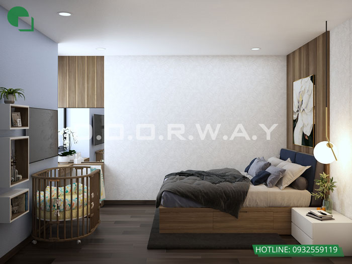 PN2(1)- Tổng hợp thiết kế nội thất căn hộ Florence đẹp nhất 2019