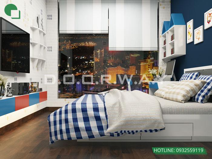 PN2(2)- Tổng hợp thiết kế nội thất căn hộ Florence đẹp nhất 2019