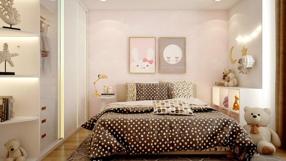 Ảnh tiêu biểu- Mách phụ huynh cách chọn nội thất phòng ngủ cho 2 bé gái
