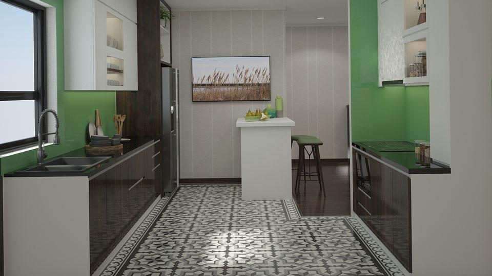 ảnh tiêu biểu - trang trí nội thất phòng bếp đẹp