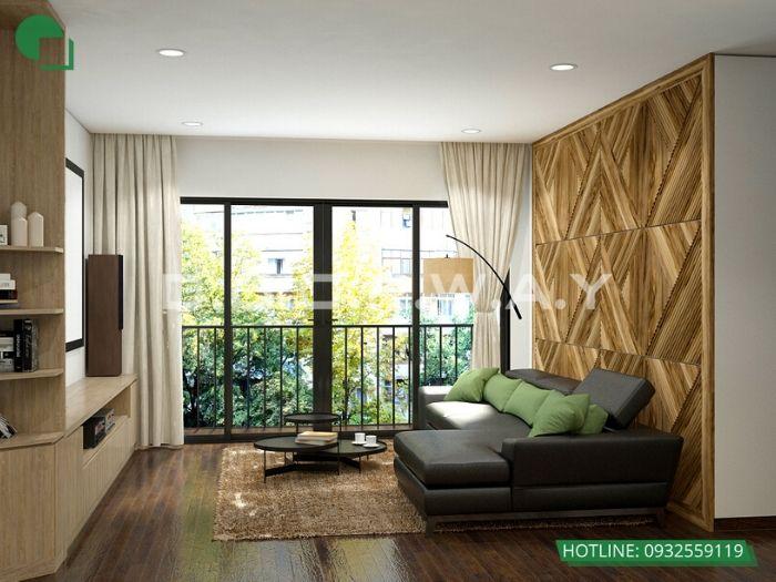 1- 12 mẫu thiết kế và thi công phòng khách đẹp hiện đại