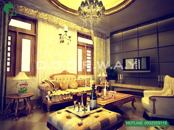 10- 12 mẫu thiết kế và thi công phòng khách đẹp hiện đại