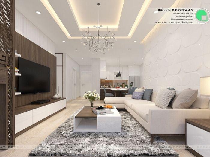 11- 12 mẫu thiết kế và thi công phòng khách đẹp hiện đại
