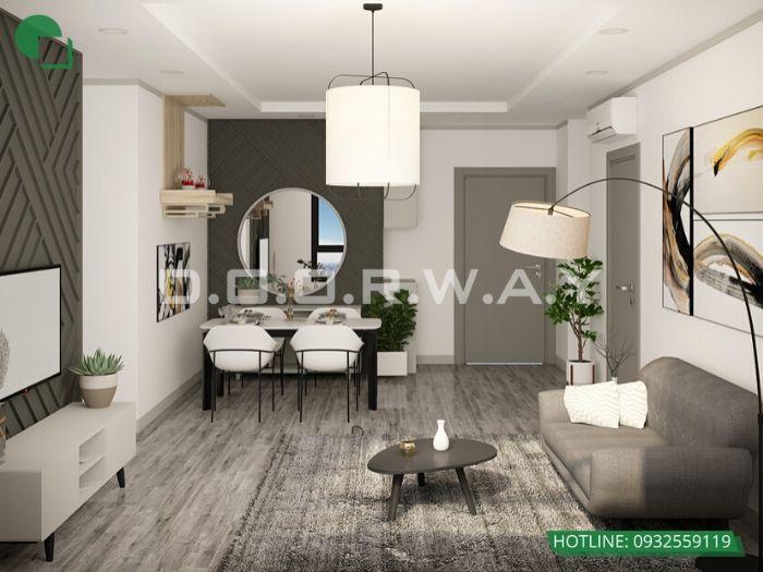 2- 12 mẫu thiết kế và thi công phòng khách đẹp hiện đại