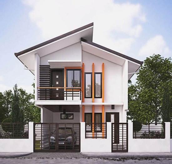 4- Tham khảo các thiết kế nhà 2 tầng 4 phòng ngủ nhìn là muốn ở ngay