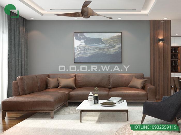 4-thiết kế phòng khách đơn giản
