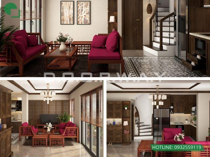 5- 12 mẫu thiết kế và thi công phòng khách đẹp hiện đại