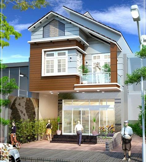 7- Tham khảo các thiết kế nhà 2 tầng 4 phòng ngủ nhìn là muốn ở ngay