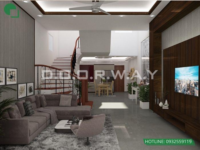 7- 12 mẫu thiết kế và thi công phòng khách đẹp hiện đại