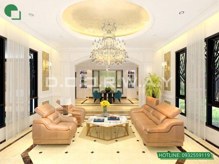 9- 12 mẫu thiết kế và thi công phòng khách đẹp hiện đại