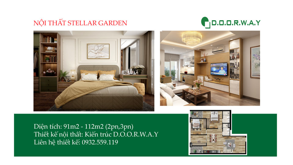 Ảnh tiêu biểu- [Full] Các mẫu thiết kế nội thất căn hộ Stellar Garden