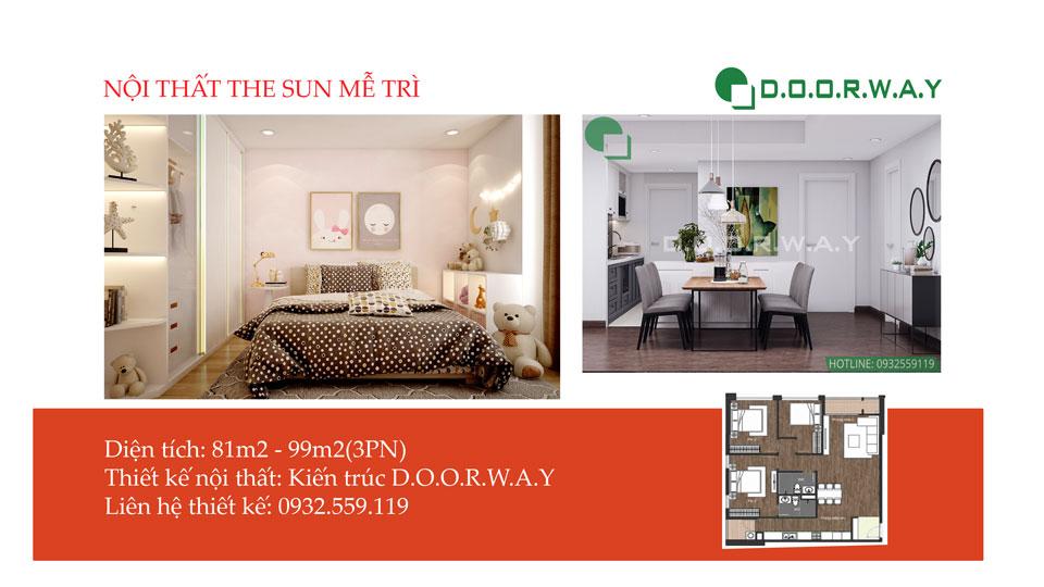 Ảnh tiêu biểu- Thêm lựa chọn cho thiết kế nội thất căn hộ The Sun Mễ Trì