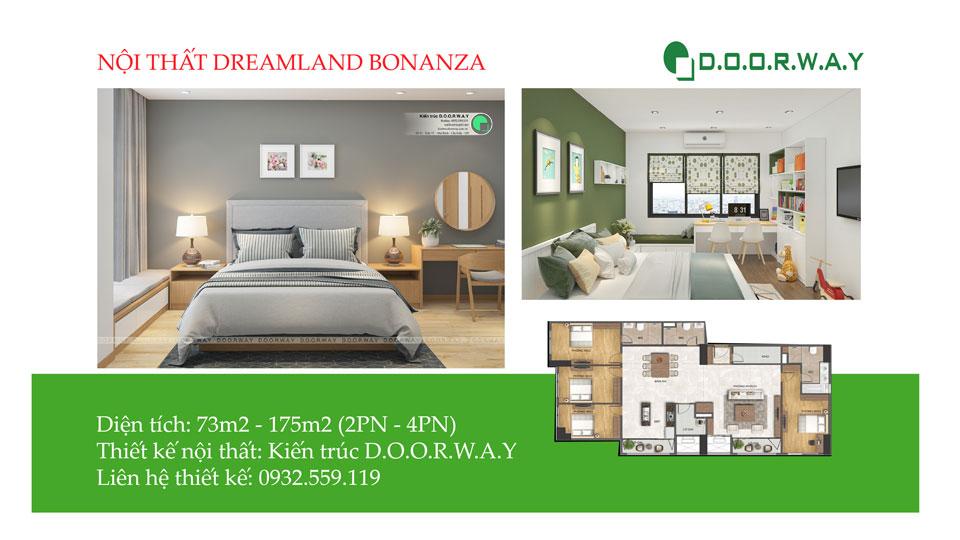 Ảnh tiêu biểu- Các mẫu thiết kế nội thất căn hộ Dreamland Bonanza