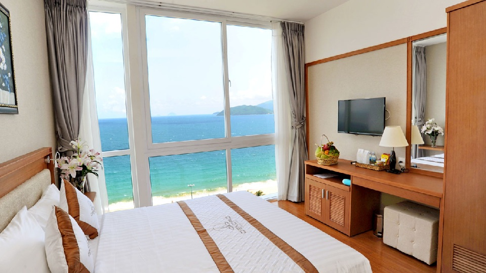 Ảnh tiêu biểu- Thiết kế nội thất phòng ngủ khách sạn 3 sao cần lưu ý những gì?