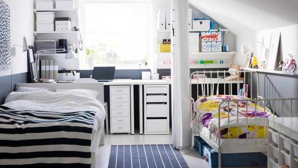Ảnh tiêu biểu- Lưu ý khi thiết kế phòng ngủ cho bố mẹ và con