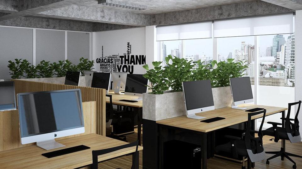 Ảnh tiêu biểu- Xu hướng thiết kế nội thất văn phòng đẹp 2020 - Doorway