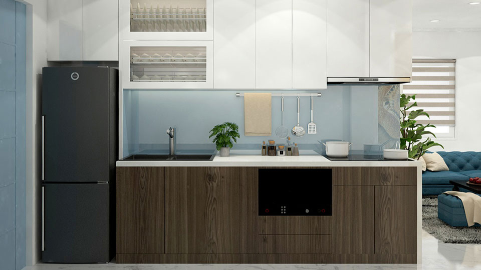 ảnh tiêu biểu - bố trí nội thất phòng bếp