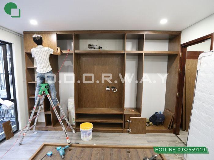 1- Thi công nội thất gỗ công nghiệp: giải pháp tối ưu tiện ích sống