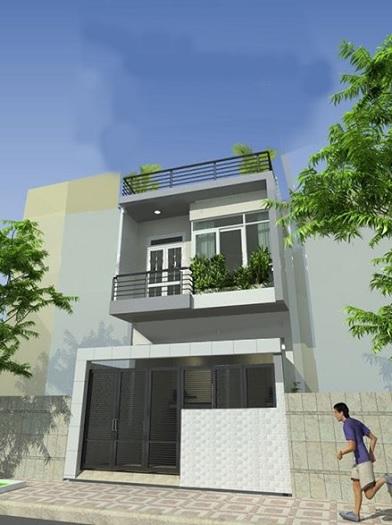 1- Ý tưởng thiết kế nhà 5x18m 2 tầng theo phong cách hiện đại