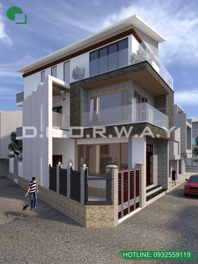 1- Tư vấn thiết kế nội thất nhà phố hiện đại 2 tầng, 3 tầng