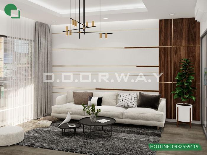 2- Tư vấn thiết kế nội thất nhà phố hiện đại 2 tầng, 3 tầng