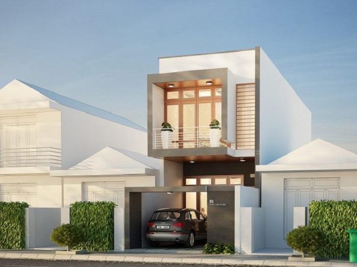 3- Ý tưởng thiết kế nhà 5x18m 2 tầng theo phong cách hiện đại