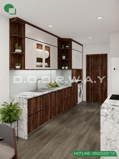 4- Tư vấn thiết kế nội thất nhà phố hiện đại 2 tầng, 3 tầng