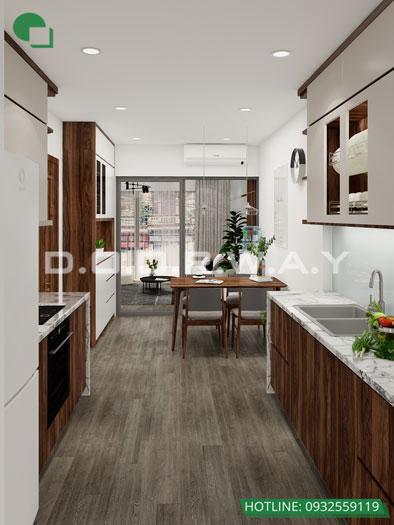5- Tư vấn thiết kế nội thất nhà phố hiện đại 2 tầng, 3 tầng