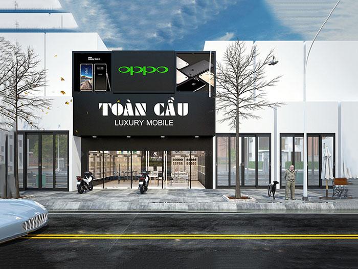 6- Bí quyết thiết kế mặt tiền showroom thu hút khách 2020