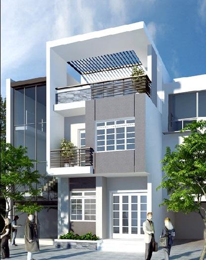 6- Ý tưởng thiết kế nhà 5x18m 2 tầng theo phong cách hiện đại