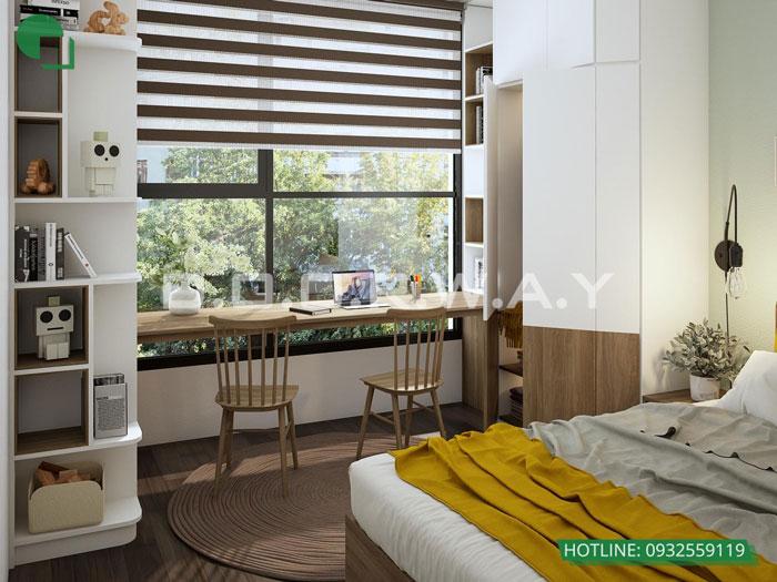 9- Tư vấn thiết kế nội thất nhà phố hiện đại 2 tầng, 3 tầng